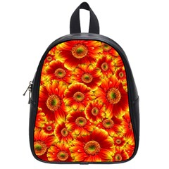 Gerbera Flowers Nature Plant School Bags (small)  by Nexatart