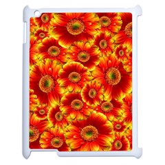 Gerbera Flowers Nature Plant Apple Ipad 2 Case (white)