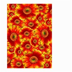 Gerbera Flowers Nature Plant Small Garden Flag (two Sides) by Nexatart