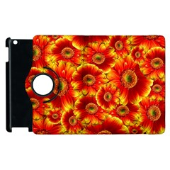 Gerbera Flowers Nature Plant Apple Ipad 3/4 Flip 360 Case by Nexatart