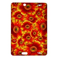 Gerbera Flowers Nature Plant Amazon Kindle Fire Hd (2013) Hardshell Case