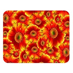 Gerbera Flowers Nature Plant Double Sided Flano Blanket (large)  by Nexatart