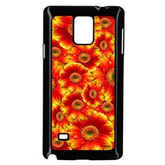 Gerbera Flowers Nature Plant Samsung Galaxy Note 4 Case (black) by Nexatart