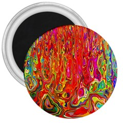 Background Texture Colorful 3  Magnets