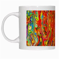Background Texture Colorful White Mugs by Nexatart
