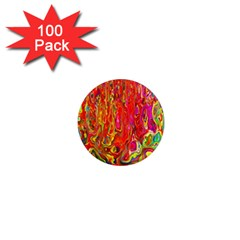 Background Texture Colorful 1  Mini Magnets (100 Pack)  by Nexatart