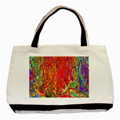 Background Texture Colorful Basic Tote Bag (two Sides)