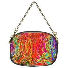 Background Texture Colorful Chain Purses (one Side)  by Nexatart