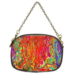 Background Texture Colorful Chain Purses (two Sides)