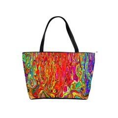 Background Texture Colorful Shoulder Handbags by Nexatart