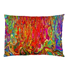 Background Texture Colorful Pillow Case (two Sides) by Nexatart