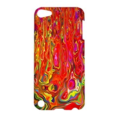 Background Texture Colorful Apple Ipod Touch 5 Hardshell Case