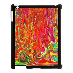 Background Texture Colorful Apple Ipad 3/4 Case (black) by Nexatart
