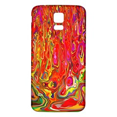 Background Texture Colorful Samsung Galaxy S5 Back Case (white)