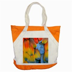 Spring Parrot Parrot Feathers Ara Accent Tote Bag by Nexatart