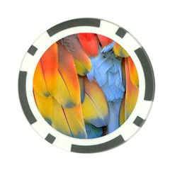 Spring Parrot Parrot Feathers Ara Poker Chip Card Guard