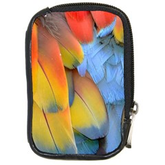 Spring Parrot Parrot Feathers Ara Compact Camera Cases by Nexatart