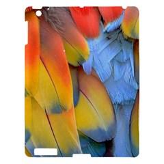 Spring Parrot Parrot Feathers Ara Apple Ipad 3/4 Hardshell Case by Nexatart