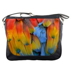 Spring Parrot Parrot Feathers Ara Messenger Bags