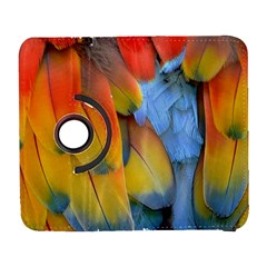 Spring Parrot Parrot Feathers Ara Galaxy S3 (flip/folio) by Nexatart