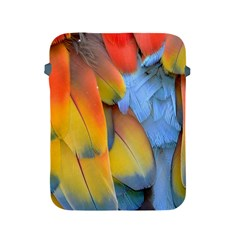 Spring Parrot Parrot Feathers Ara Apple Ipad 2/3/4 Protective Soft Cases by Nexatart