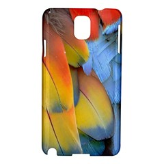 Spring Parrot Parrot Feathers Ara Samsung Galaxy Note 3 N9005 Hardshell Case by Nexatart
