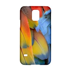 Spring Parrot Parrot Feathers Ara Samsung Galaxy S5 Hardshell Case  by Nexatart