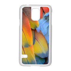 Spring Parrot Parrot Feathers Ara Samsung Galaxy S5 Case (white)