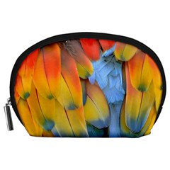 Spring Parrot Parrot Feathers Ara Accessory Pouches (large)