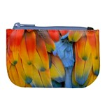 Spring Parrot Parrot Feathers Ara Large Coin Purse Front
