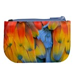 Spring Parrot Parrot Feathers Ara Large Coin Purse Back