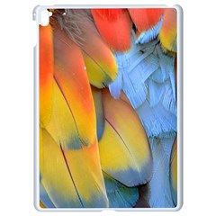 Spring Parrot Parrot Feathers Ara Apple Ipad Pro 9 7   White Seamless Case by Nexatart