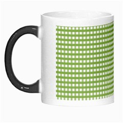 Gingham Check Plaid Fabric Pattern Morph Mugs by Nexatart