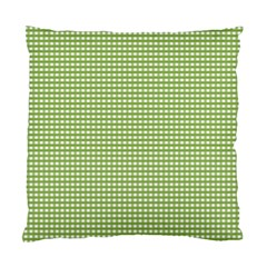 Gingham Check Plaid Fabric Pattern Standard Cushion Case (one Side) by Nexatart