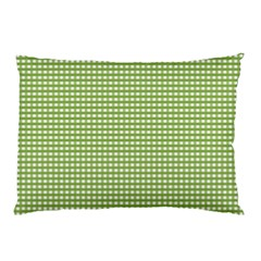Gingham Check Plaid Fabric Pattern Pillow Case by Nexatart