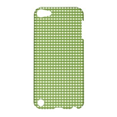 Gingham Check Plaid Fabric Pattern Apple Ipod Touch 5 Hardshell Case by Nexatart