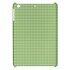 Gingham Check Plaid Fabric Pattern Apple Ipad Mini Hardshell Case by Nexatart