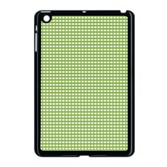 Gingham Check Plaid Fabric Pattern Apple Ipad Mini Case (black) by Nexatart