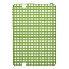 Gingham Check Plaid Fabric Pattern Kindle Fire Hd 8 9  by Nexatart