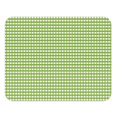 Gingham Check Plaid Fabric Pattern Double Sided Flano Blanket (large)  by Nexatart