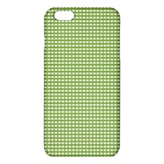 Gingham Check Plaid Fabric Pattern Iphone 6 Plus/6s Plus Tpu Case