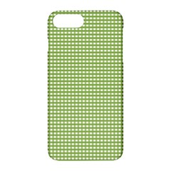Gingham Check Plaid Fabric Pattern Apple Iphone 7 Plus Hardshell Case