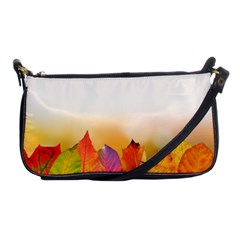 Autumn Leaves Colorful Fall Foliage Shoulder Clutch Bags by Nexatart