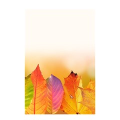 Autumn Leaves Colorful Fall Foliage Shower Curtain 48  X 72  (small)  by Nexatart
