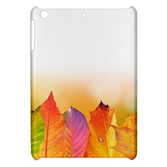 Autumn Leaves Colorful Fall Foliage Apple Ipad Mini Hardshell Case by Nexatart