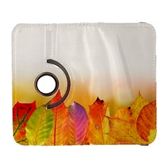Autumn Leaves Colorful Fall Foliage Galaxy S3 (flip/folio)