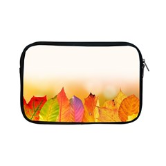 Autumn Leaves Colorful Fall Foliage Apple Ipad Mini Zipper Cases by Nexatart