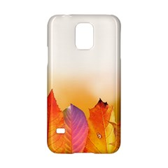 Autumn Leaves Colorful Fall Foliage Samsung Galaxy S5 Hardshell Case  by Nexatart