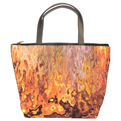 Background Texture Pattern Vintage Bucket Bags