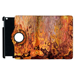 Background Texture Pattern Vintage Apple Ipad 2 Flip 360 Case by Nexatart